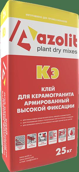 Azolit Кэ клей для керамогранита армированный высокой фиксации