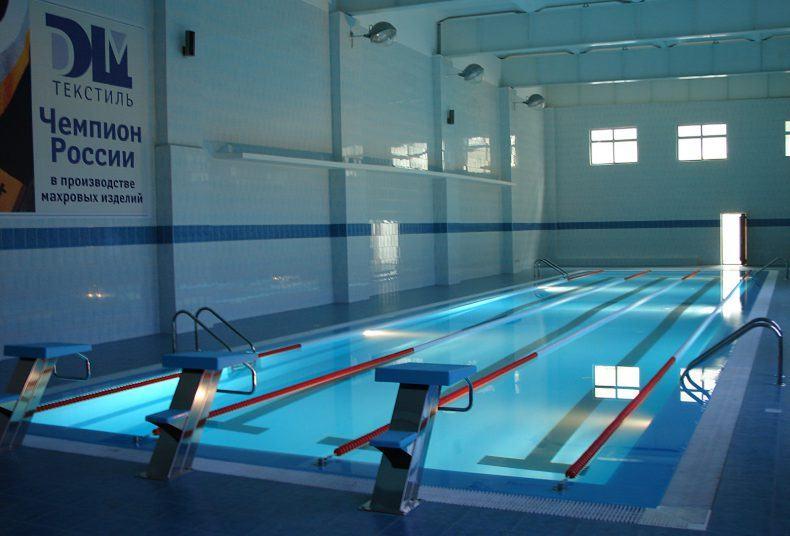 Бассейн в Физкультурно-Оздоровительном комплексе