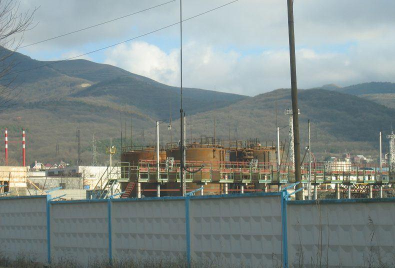 Нефтебаза резервуарного парка